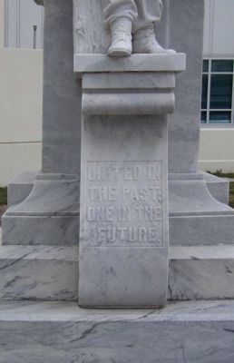 Tampa Confederate Monument , north face Photo, Click for full size