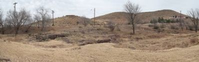 Panorama of part of the springs area image. Click for full size.
