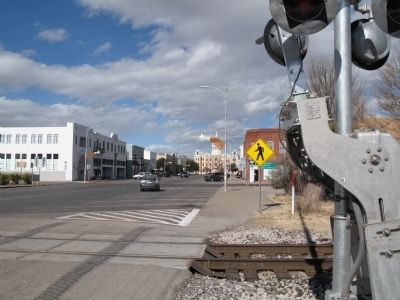 Downtown Marfa image. Click for full size.