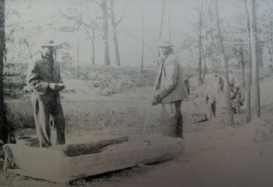 The Civilian Conservation Corps Marker Photo image. Click for full size.