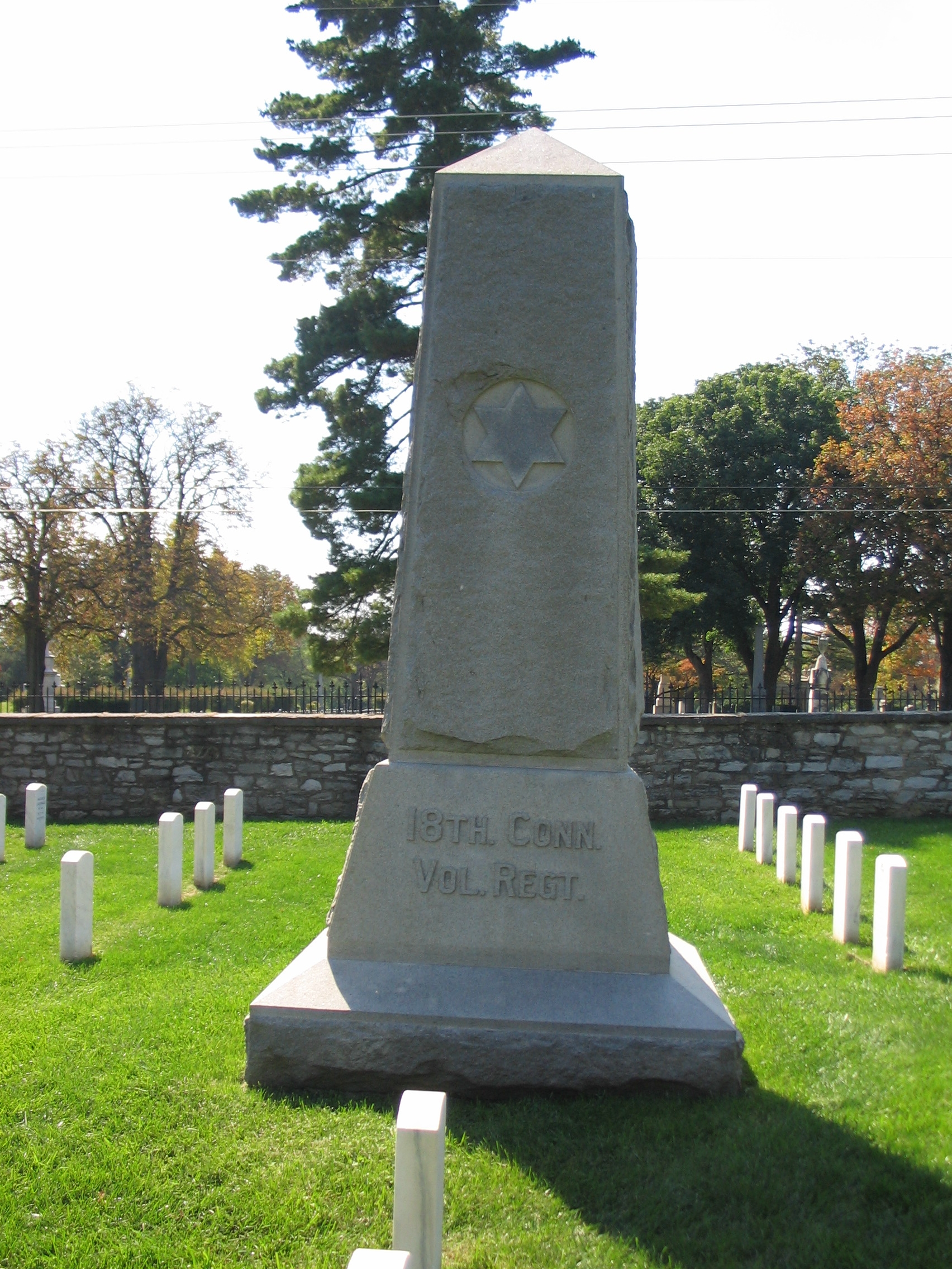 18th Connecticut Volunteer Regiment Memorial