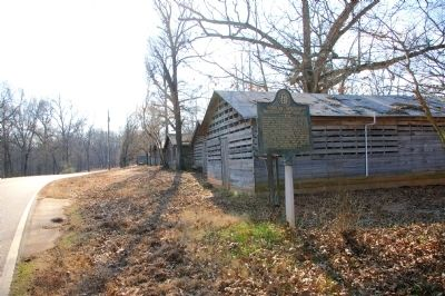 Poplar Springs Methodist Camp Ground Marker Photo, Click for full size