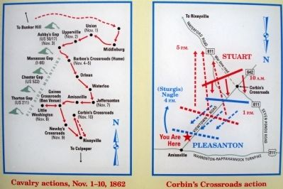 Close-up of Map(s) on Marker Photo, Click for full size