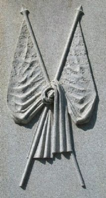 Vinton County Civil War Memorial Detail image. Click for full size.