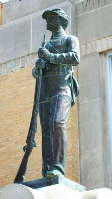Vinton County Civil War Memorial Statue image. Click for full size.