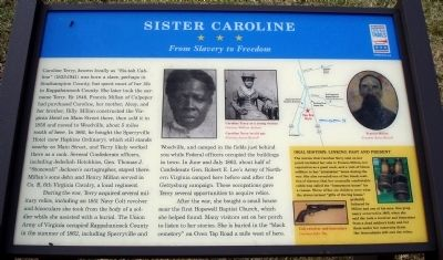 Sister Caroline Marker Photo, Click for full size