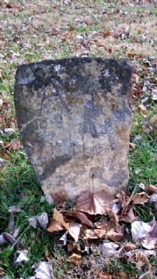 Fieldstone Grave Marker image. Click for full size.
