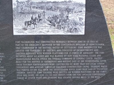 Fort Washington - Right Panel Photo, Click for full size