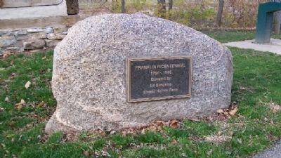 Franklin Bicentennial 1796 - 1996 Marker Photo, Click for full size