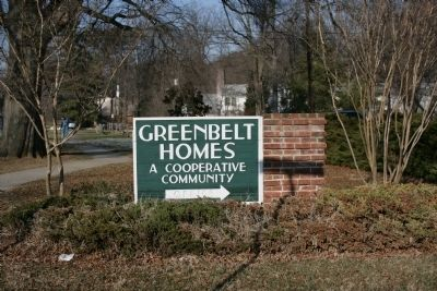 Greenbelt Homes Inc. Sign image. Click for full size.