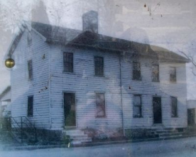 Photo of Log Post Office on Marker image. Click for full size.