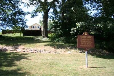 Wyandot Indian Council House Marker image. Click for full size.