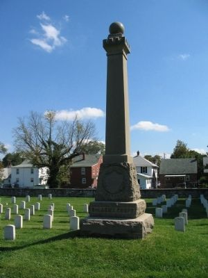 6th Army Corps Memorial image. Click for full size.