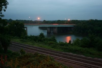 Interstate 65 Bridge crossing the Alabama River. image. Click for full size.