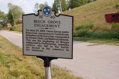 Beech Grove Engagement Marker image. Click for full size.