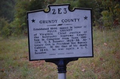 Grundy County 2E3 Marker image. Click for full size.