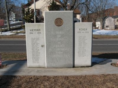 Meriden Korea – Vietnam Memorial image. Click for full size.