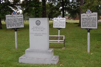 Isham G. Harris and other nearby Markers image. Click for full size.