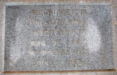 118th Pennsylvania Infantry Marker Photo, Click for full size