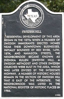 Swedish Hill Marker image. Click for full size.