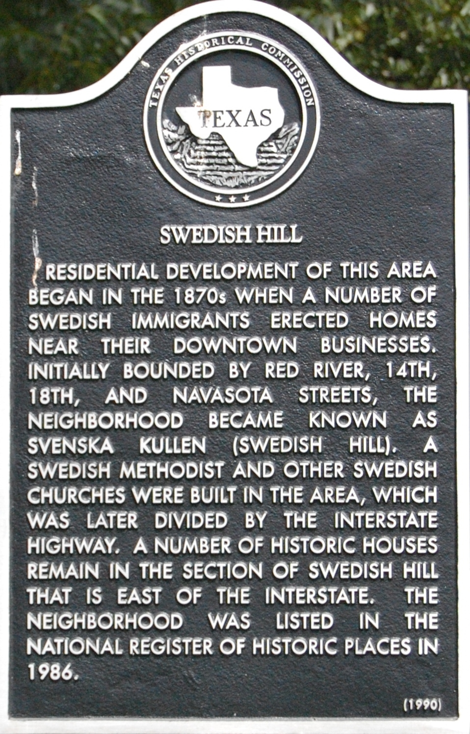 Swedish Hill Marker
