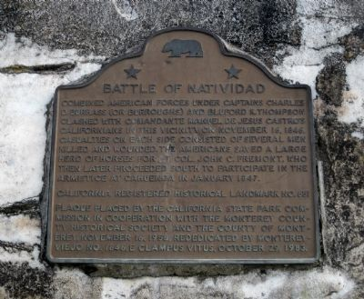 Battle of Natividad Marker image. Click for full size.