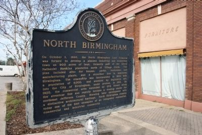 North Birmingham Marker image. Click for full size.