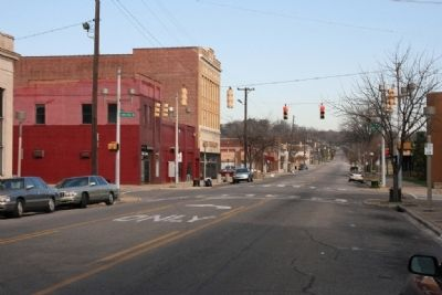 27th Street North in North Birmingham image. Click for full size.