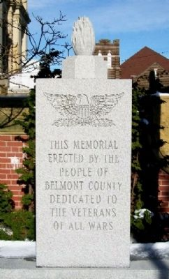 Belmont County Veterans Memorial image. Click for full size.
