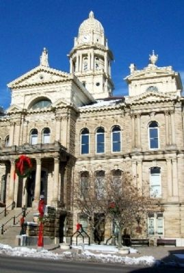 Belmont County Courthouse image. Click for full size.