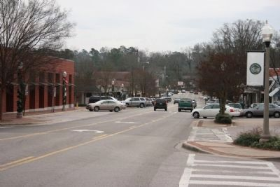 Church Street in the Crestline Village of Mountain Brook image. Click for full size.