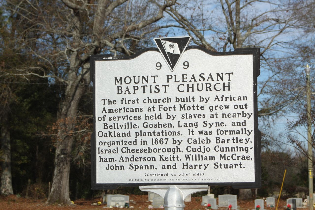 Mount Pleasant Baptist Church Marker