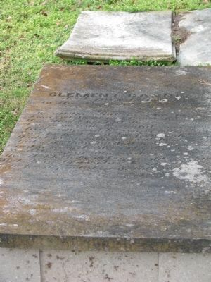 Clement Cannon, Sr. grave image. Click for full size.