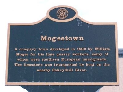 Mogeetown Marker Photo, Click for full size