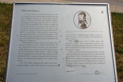 William Wells Marker image. Click for full size.