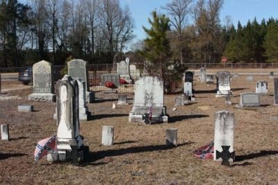 Jericho Methodist Church Cemetery with Confederate Veterans image. Click for full size.
