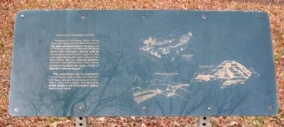 The Myth of the Mound Builders Marker image. Click for full size.
