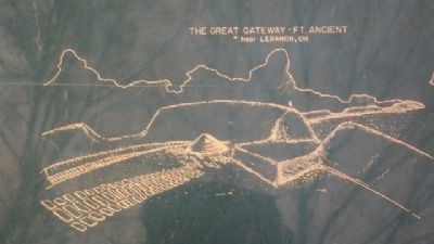 The Great Gateway on Myth Marker image. Click for full size.