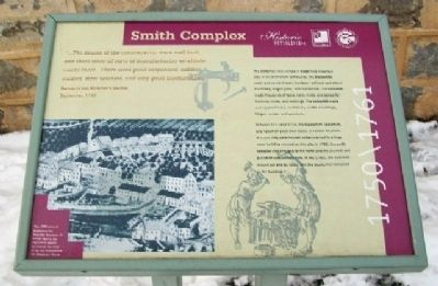 Smith Complex Marker image. Click for full size.
