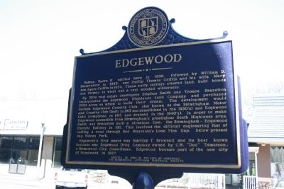 Edgewood Marker image. Click for full size.