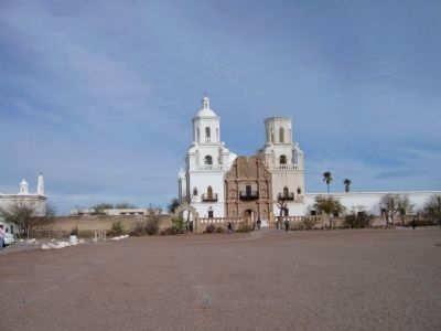 Mission San Xavier del Bac image. Click for full size.