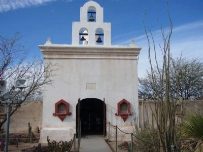 San Xavier del Bac Mortuary Chapel image. Click for full size.