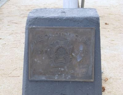 Mission Santa Clara Veterans Memorial Marker image. Click for full size.