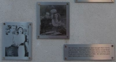 Max Heller Legacy Plaza -<br>A Love Story: Bottom Panel Photo, Click for full size