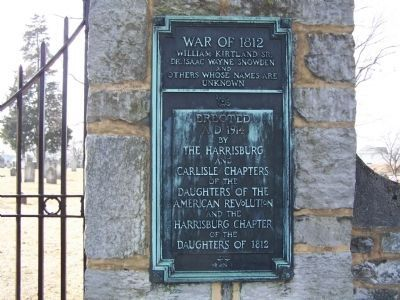 Right Plaque on Graveyard Wall image. Click for full size.