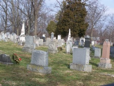 Silver Spring Graveyard image. Click for full size.