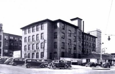 Piedmont Shirt Company -<br>Where Heller was Employed<br>Previously the American Cigar Factory image, Click for more information