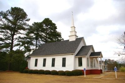 Chickasawhatchee Primitive Baptist Church image. Click for full size.