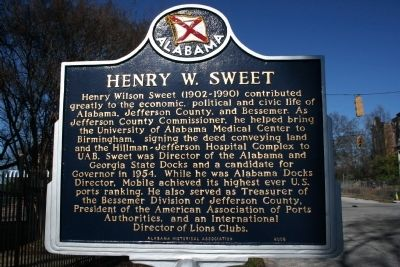 Sweet Home / Henry W. Sweet Marker image. Click for full size.