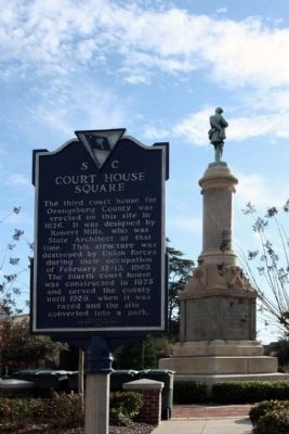Court House Square Marker Photo, Click for full size